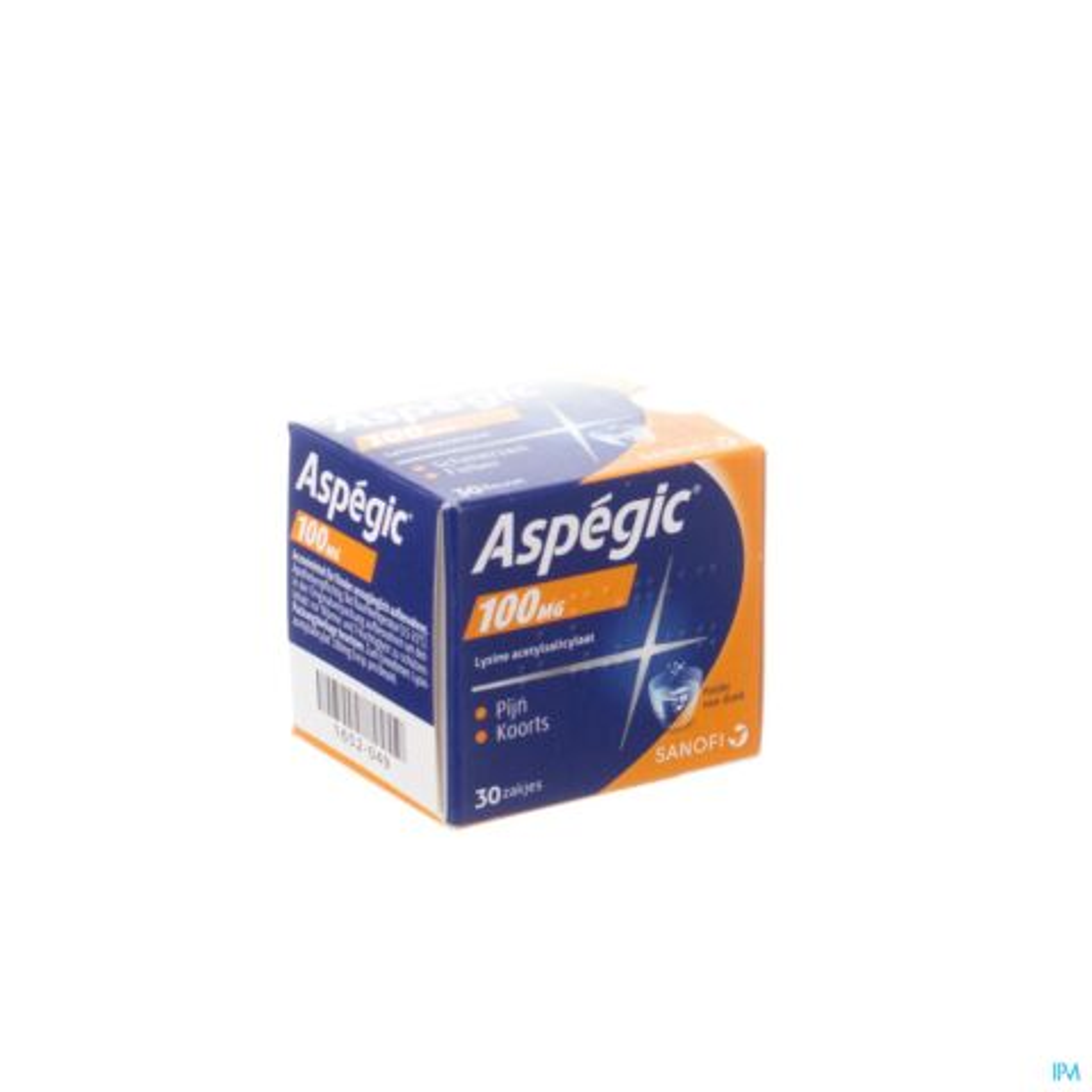 Aspegic 100mg 30 Zakjes