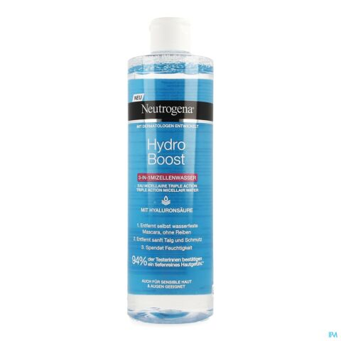 NEUTROGENA HYDRO BOOST 3IN1 MICELLAIR WATER 400ML