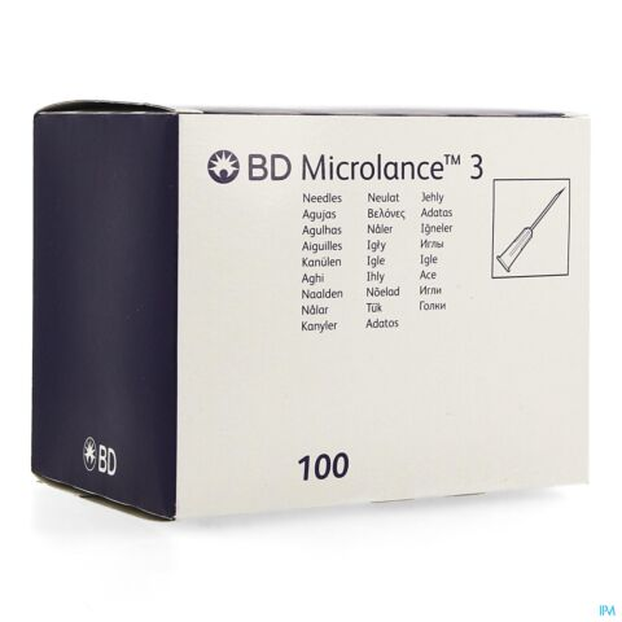 BD MICROLANCE 3 NAALD 22G 1 1/4 RB 0,7X30MM ZWT 1