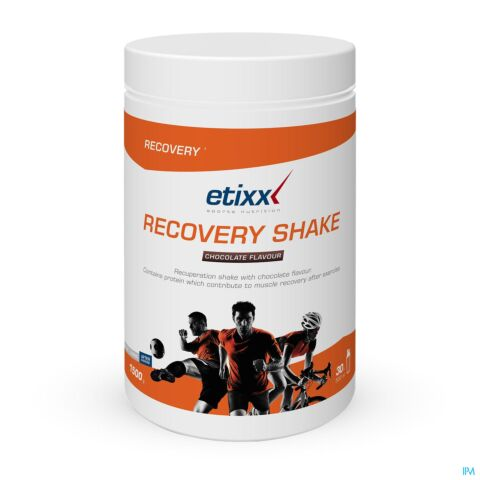 Etixx Recovery Shake Chocoladesmaak 1500g