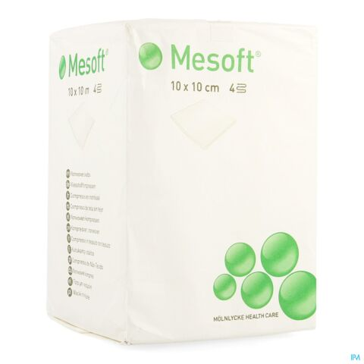 MESOFT KP N/ST 4L 10X10 100 156315
