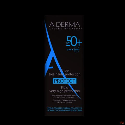 A-Derma Protect Fluide SPF50+ 40ml