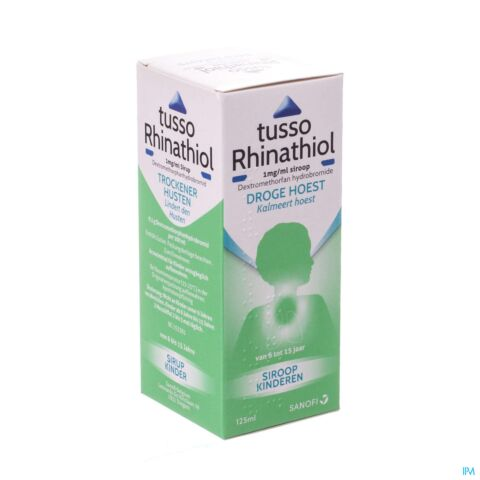 Tusso-Rhinathiol Kind Siroop 125ml