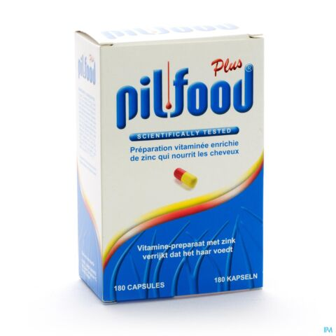 Pilfood Plus 180 Capsules
