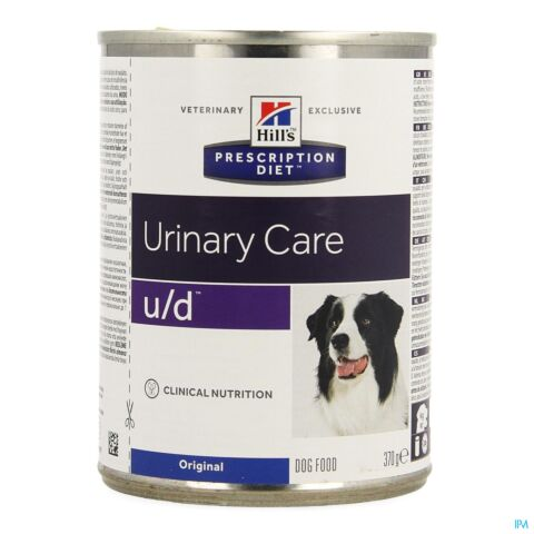 Hills Prescription Diet Canine u/d Hond 370g