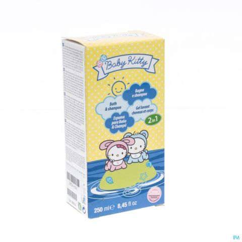 Hello Kitty Baby 2-In-1 Bad En Shampoo 250ml