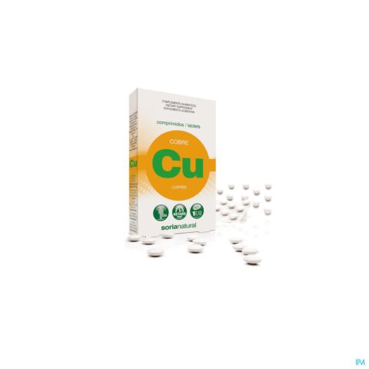 Soria Koper (Cu) Retard 24 Tabletten