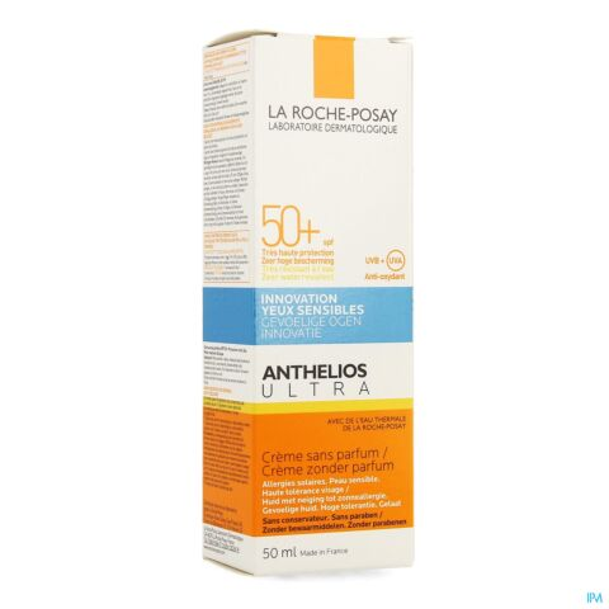 La Roche-Posay Anthelios Ultra Zonnecrème Zonder Parfum SPF50+ 50ml