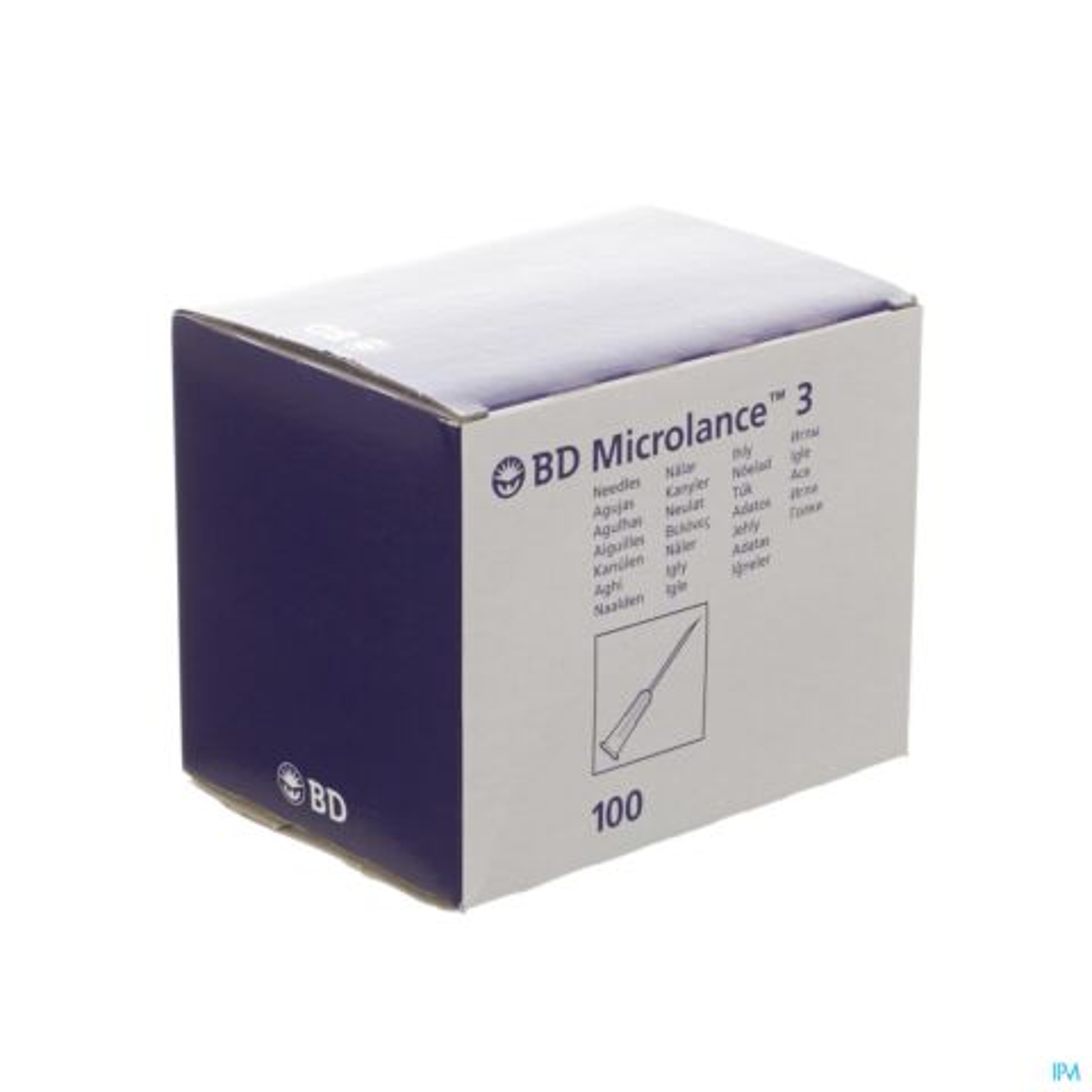 BD MICROLANCE 3 NLD 25G 5/8 RB 0,5X16MM ORANJE 100