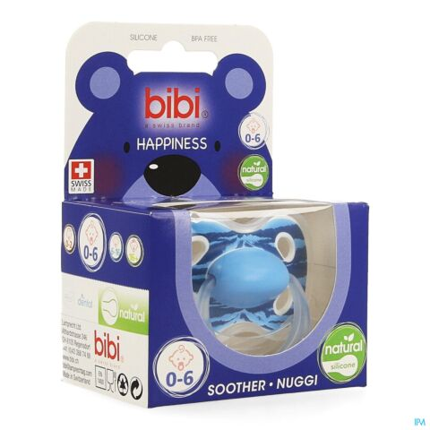 Bibi Fopspeen Happiness Natural Wild Baby 0-6m