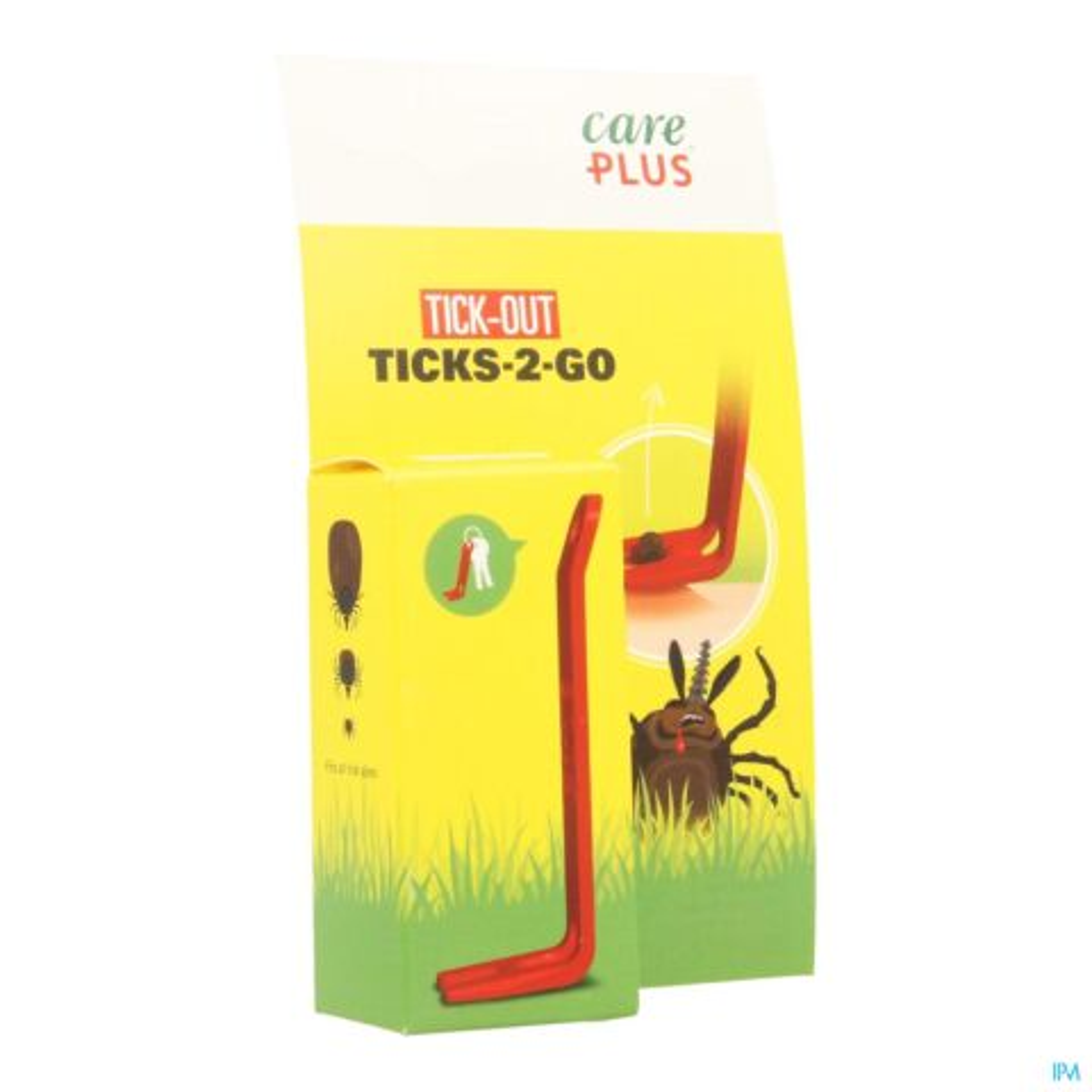 Care Plus Tick-Out Ticks 2 Go Tekentang 1 Stuk