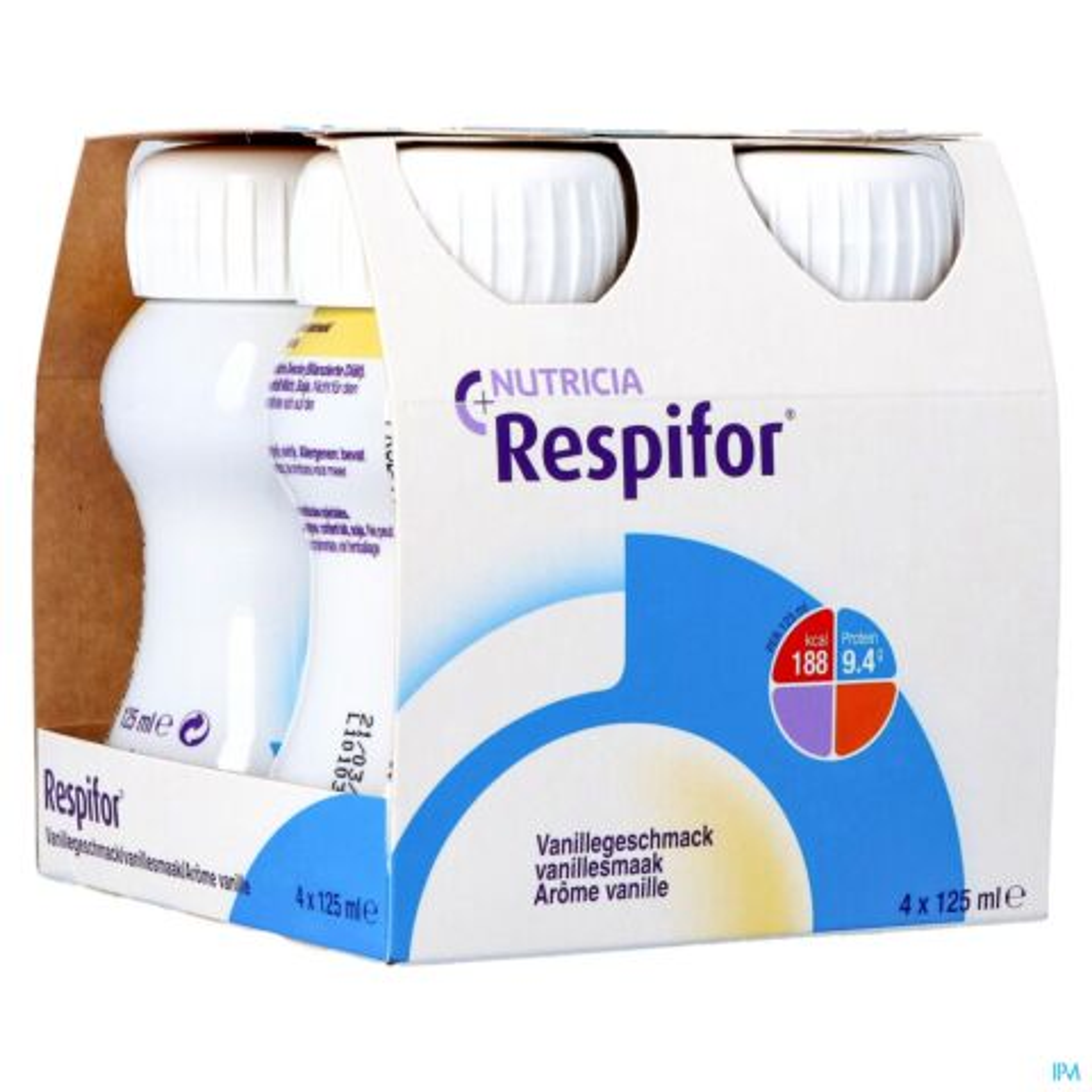 Respifor Vanille 4x125ml