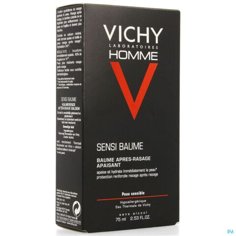 Vichy Homme Sensi-Baume Aftershave Balsem 75ml