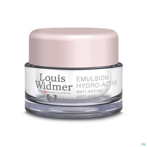 Louis Widmer Emulsion Hydro-Active Zonder Parfum 50ml
