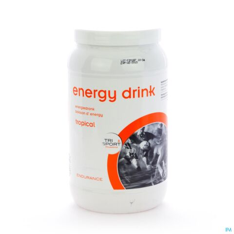 Trisport Pharma Energy-Drink Tropical Poeder 1kg