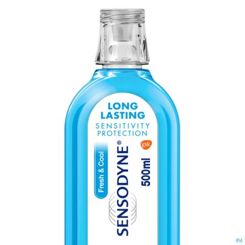 Sensodyne Mondwater Fresh & Cool 500ml