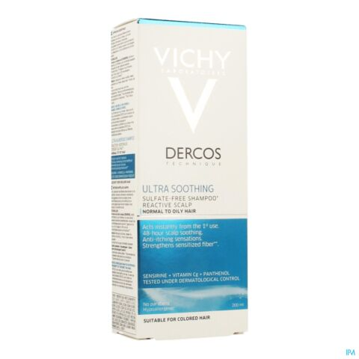 Vichy Dercos Dermo Kalmerend Vet Haar Shampoo 200ml