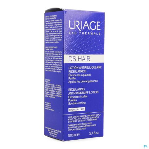 Uriage D.S. Lotion Hoofdhuid Regulerende Verzachtende Spray 100ml
