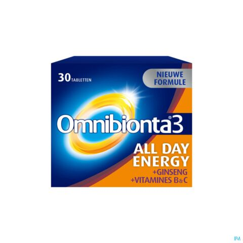 Omnibionta3 All Day Energy 30 Tabletten