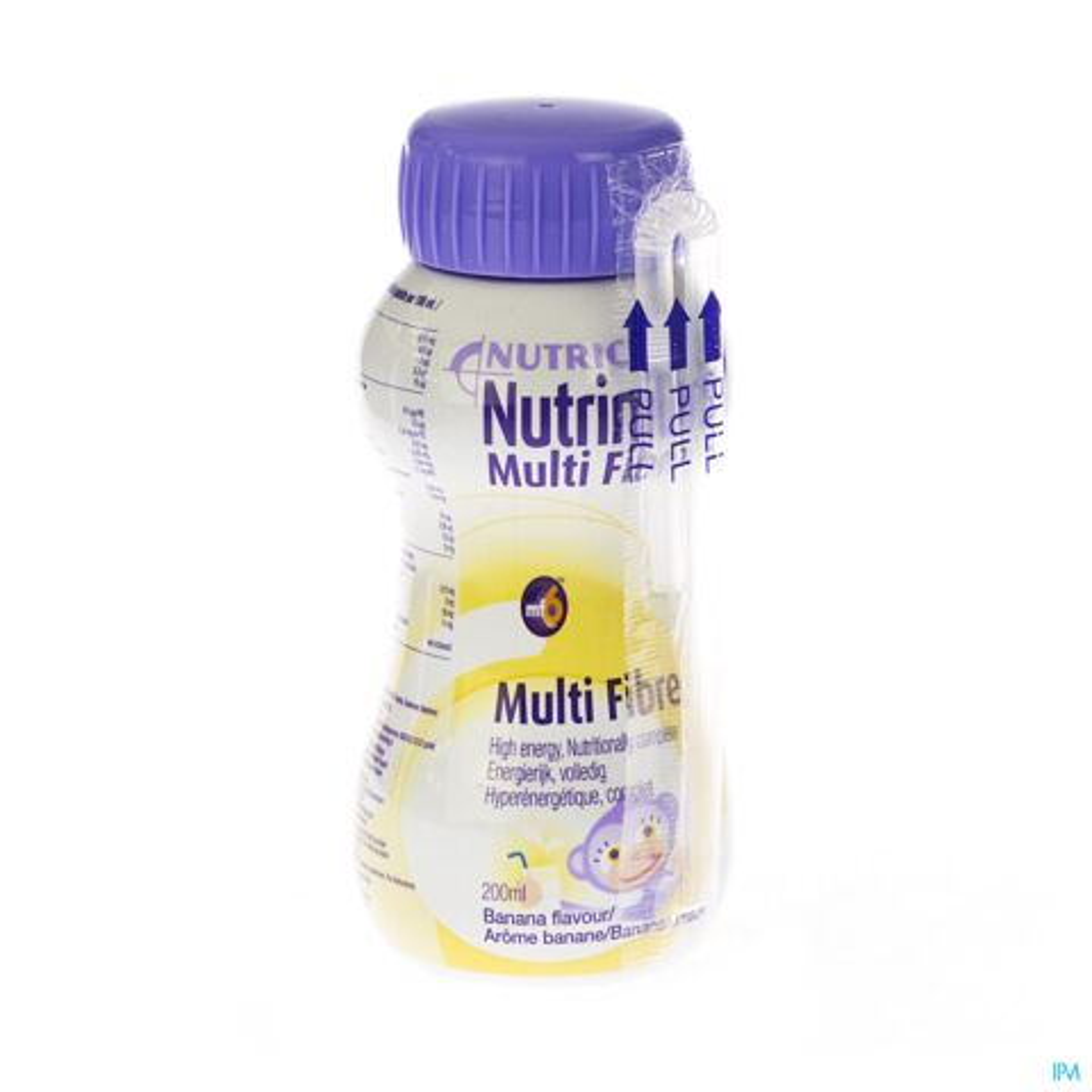 NUTRINIDRINK BANAAN MULTI F. +12M FL 200ML 65595