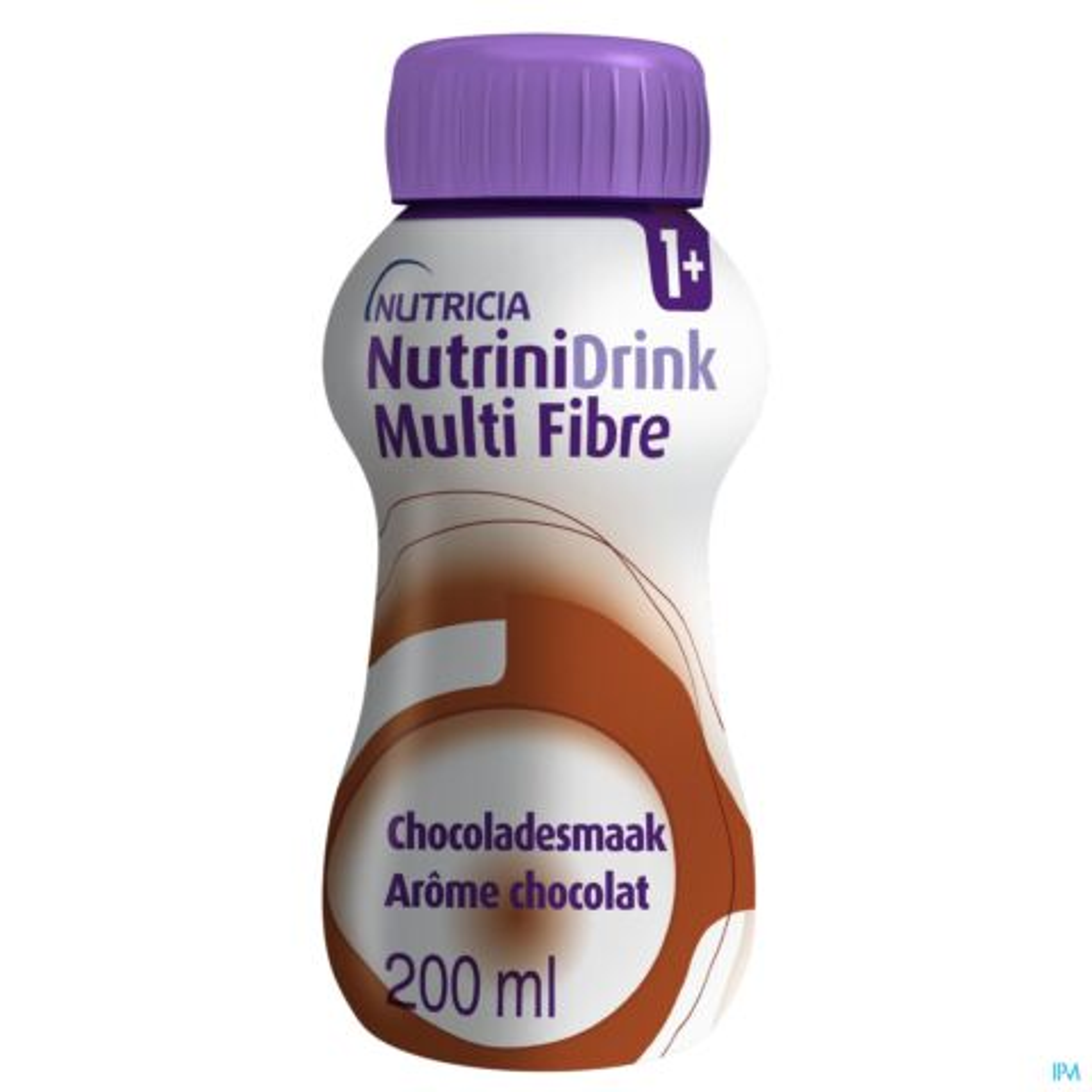 NutriniDrink Multi Fibre Chocoladesmaak Flesje 200 ml