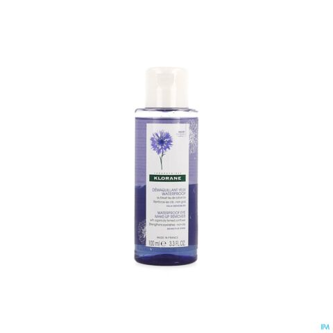 KLORANE KORENBLOEM DEMAQUILL. WATERPROOF FL 100ML
