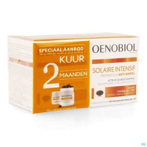 Oenobiol Zon Intensief Anti-Rimpel 60 Capsules