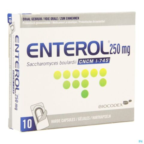 Enterol 250mg Blister 10 Capsules