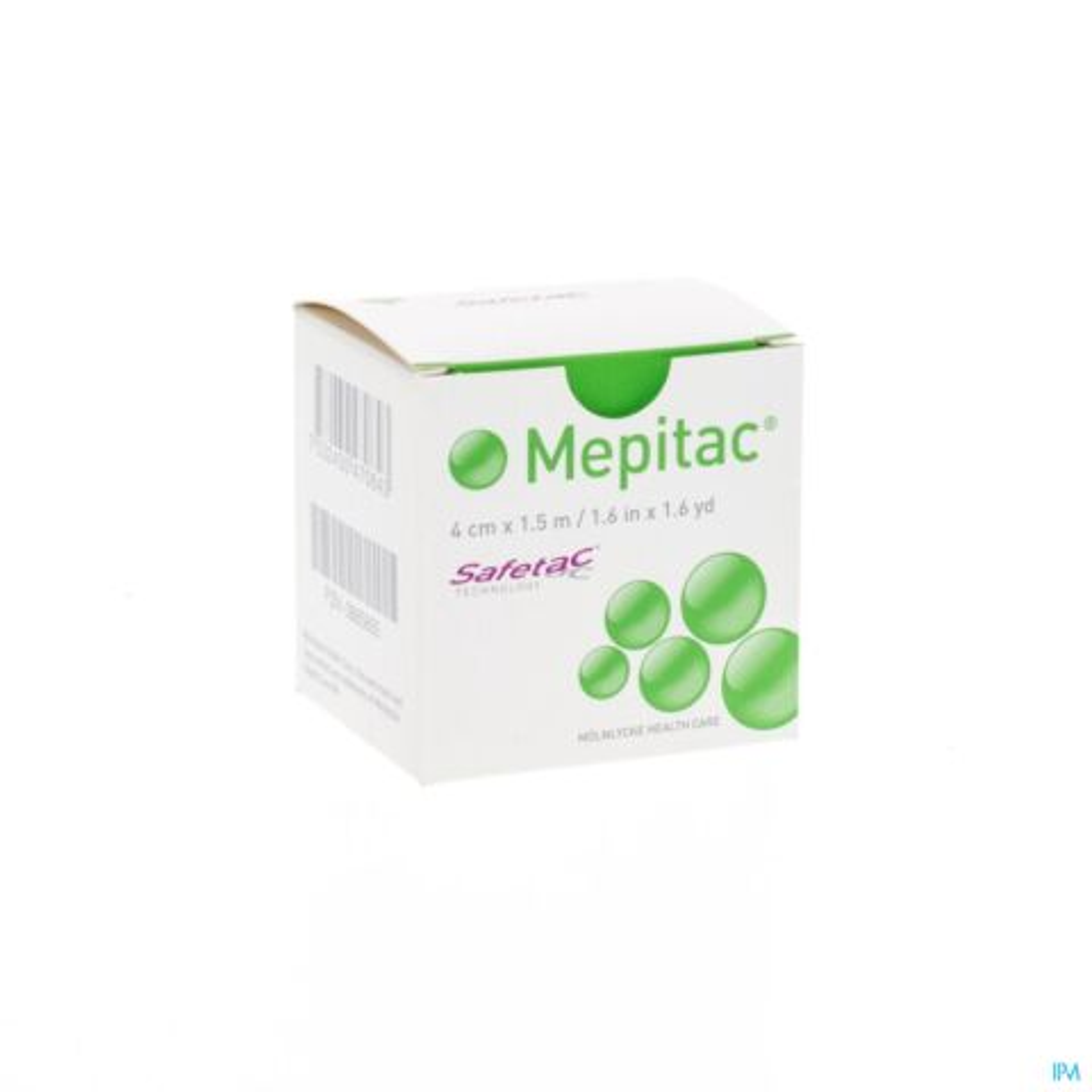 MEPITAC ZACHTE FIXATIETAPE SIL 4CMX1,5M 1 298400