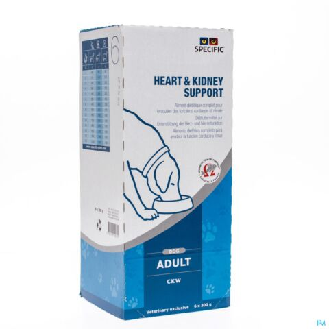 SPECIFIC CKW HEART KIDNEY SUPPORT 6X300G