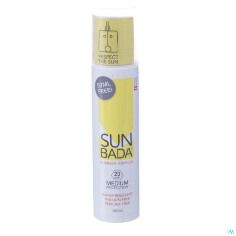 Sunbada Medium SPF20 200ml