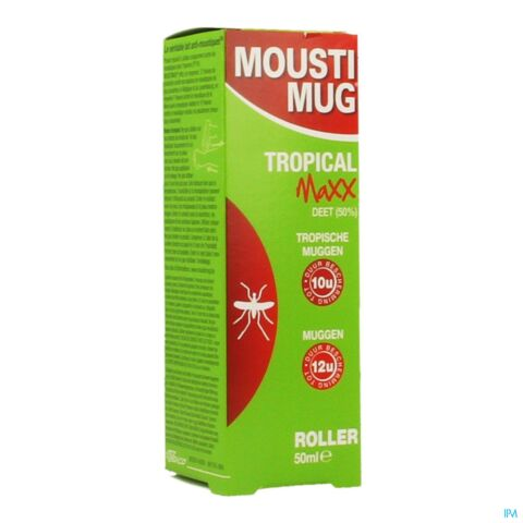 Moustimug Tropical Maxx 50% DEET Roller