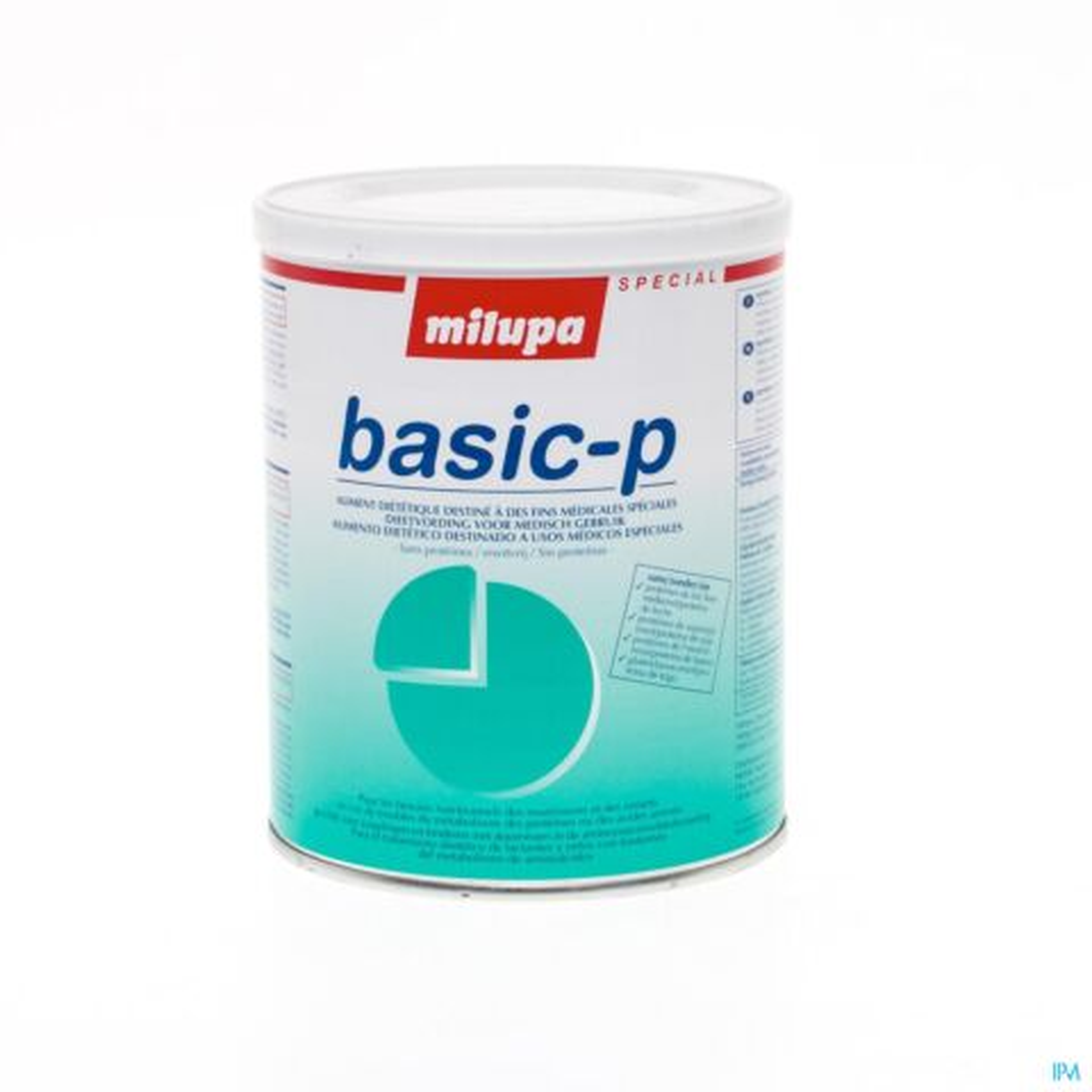 BASIC-P MILUPA PULV OR 400 G