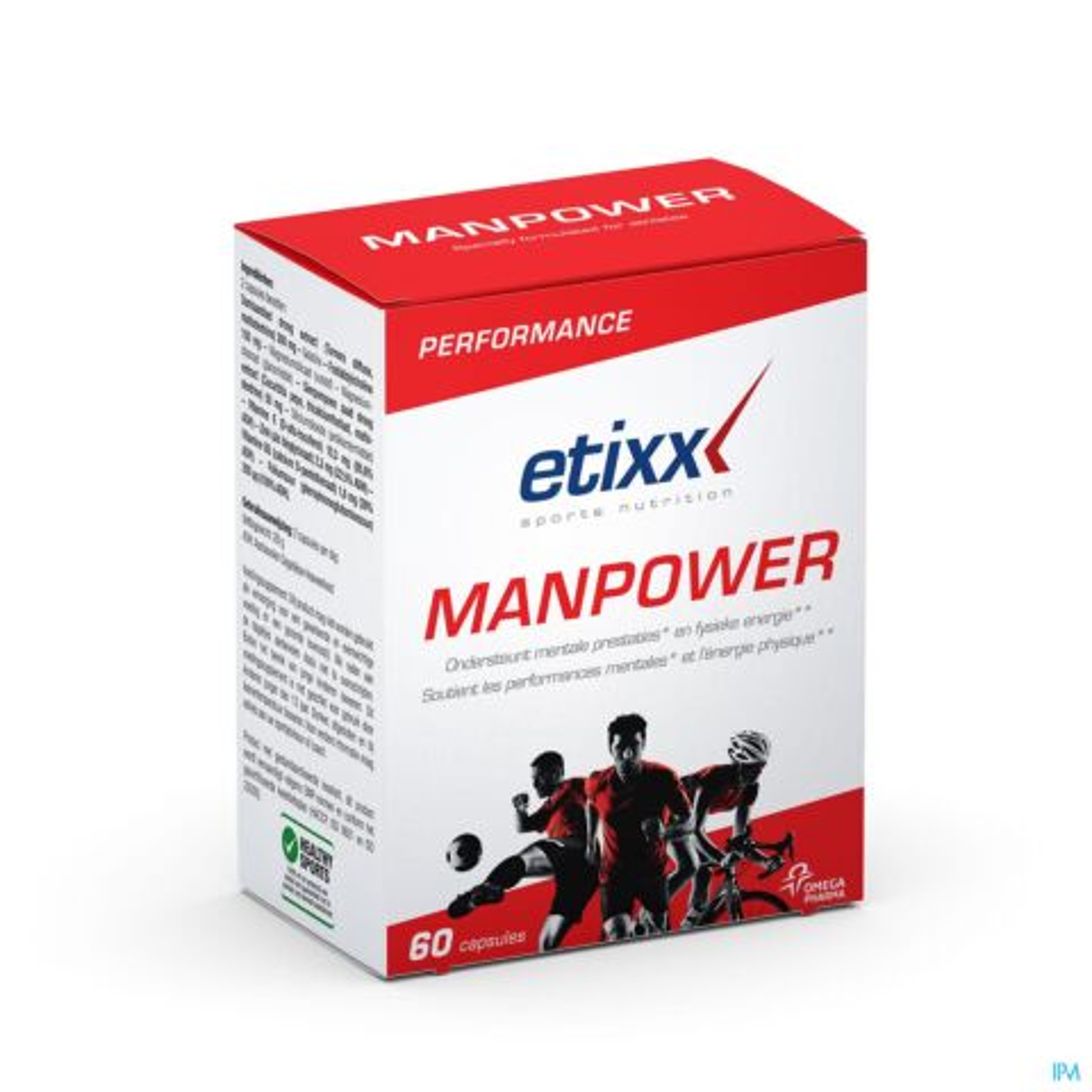 Etixx ManPower 60 Capsules