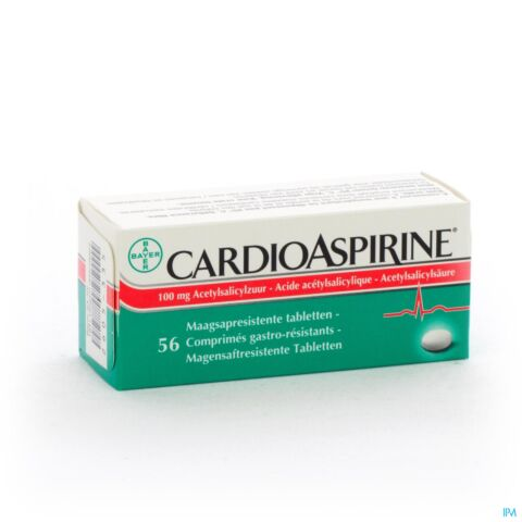 CardioAspirine 100mg 56 Tabletten