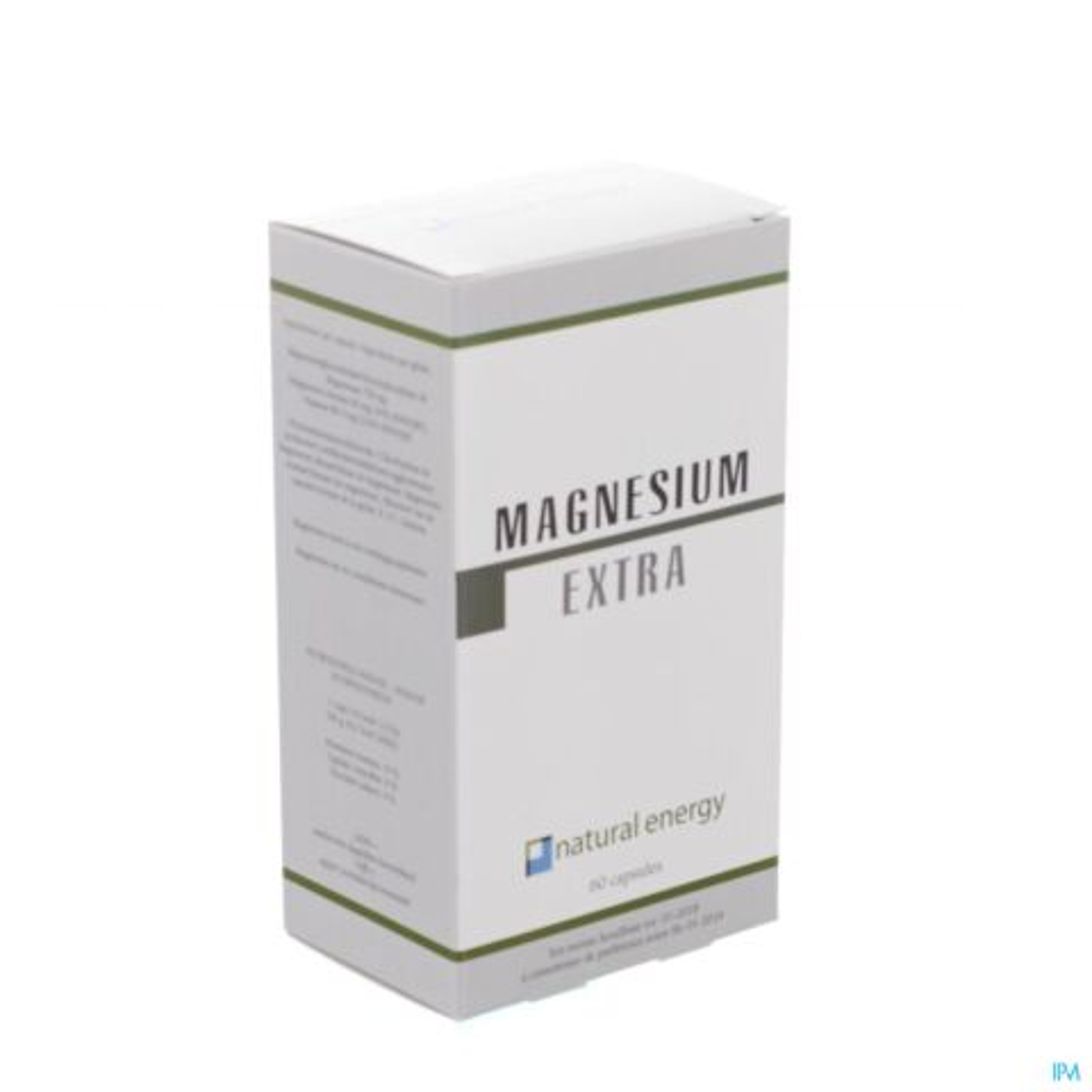 Natural Energy Magnesium Extra 60 Capsules