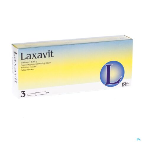Laxavit 3 Injecties 12ml