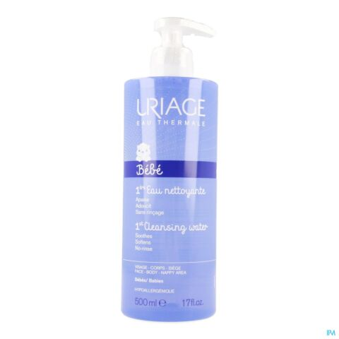 Uriage 1e Milde Reinigend Water Flacon 500ml