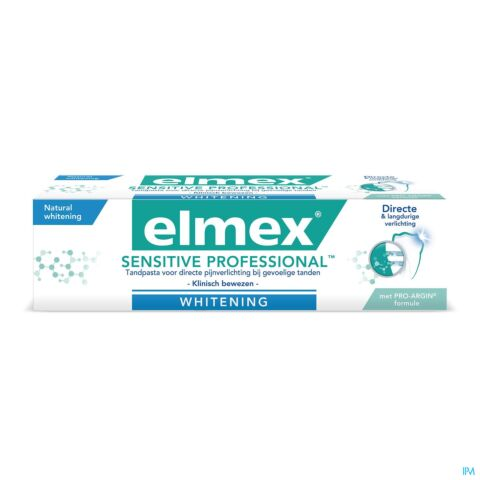 Elmex Sensitive Professional Gentle Whitening Tandpasta 75ml