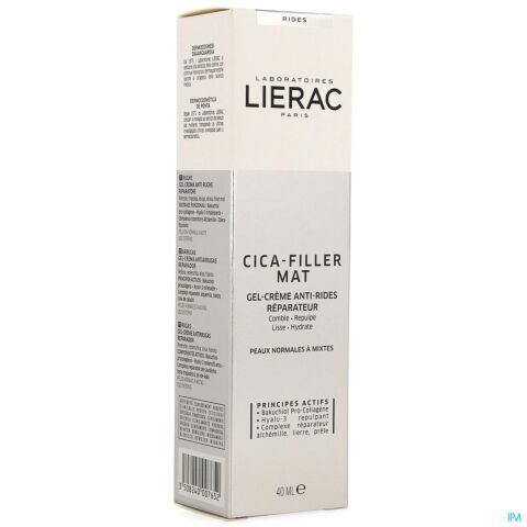 LIERAC CICA FILLER GEL CR A/RIMPEL HERST.TUBE 40ML