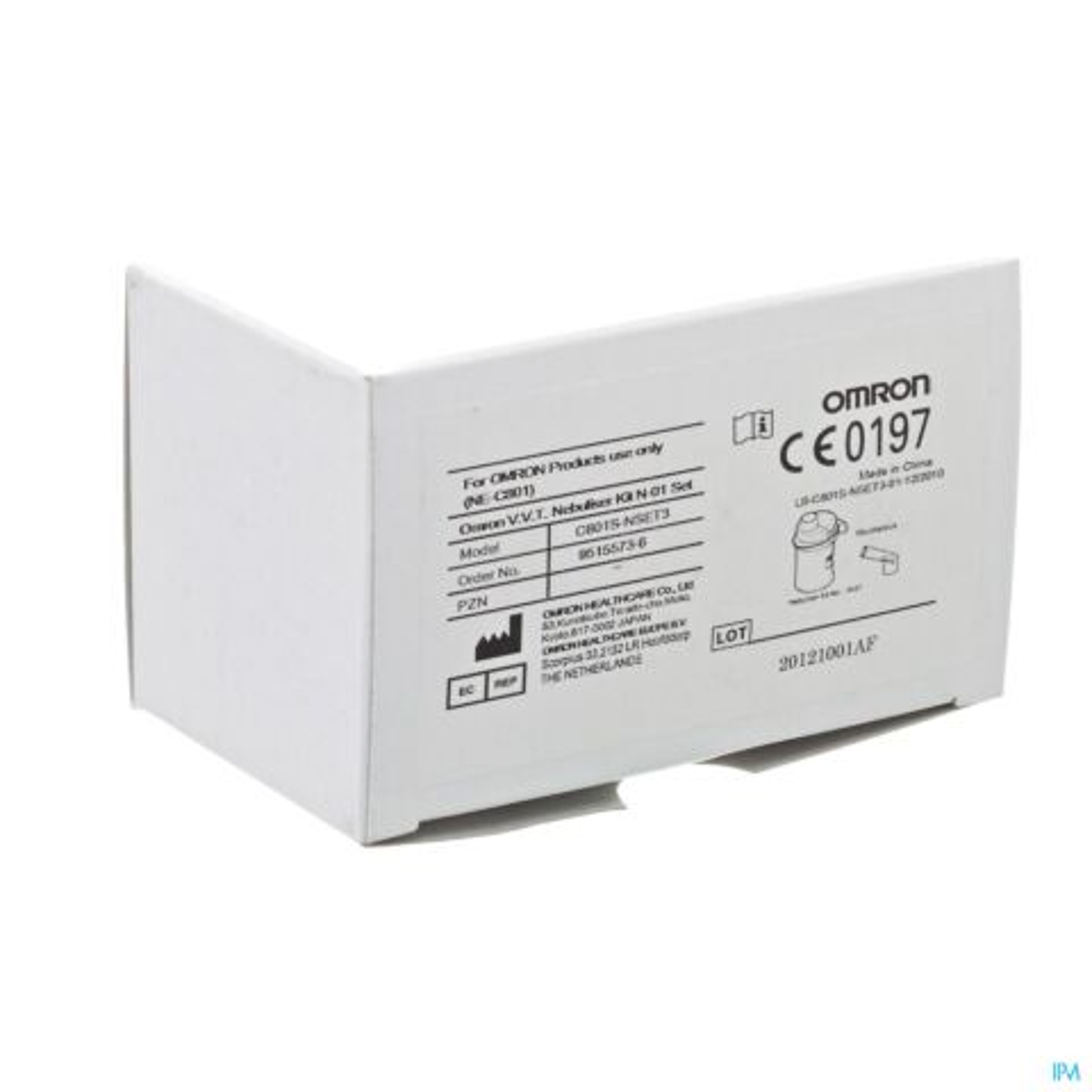 OMRON VERSTUIFSET VVT N-01 + MONDSTUK VR C801KD