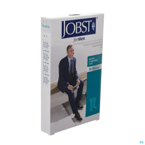 JOBST FOR MEN K2 20-30 AD OPEN TEEN ZWART L 1P