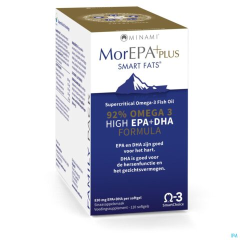 MorEPA Plus Family Pack 120 Softgels