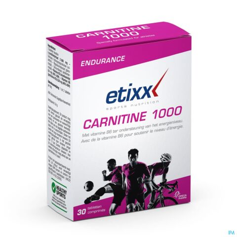 Etixx Carnitine 1000 30 Tabletten