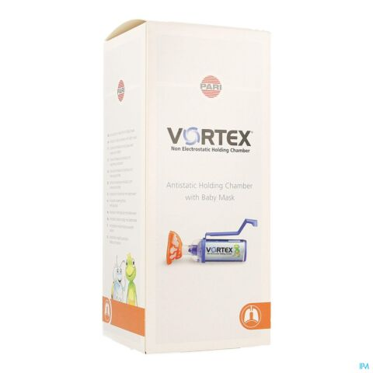 Vortex + Masker Baby 0-2 Jaar 1 Stuk