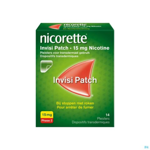 Nicorette Invisible 15 Mg 14 Patches