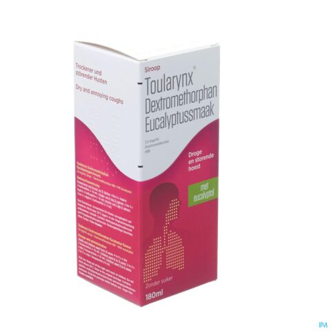Toularynx Dextromethorphan Eucalyptus 180ml