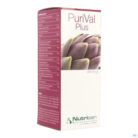 Nutrisan Purival Plus Siroop 200ml