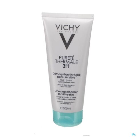 Vichy Pureté Thermale Make-Up Verwijdering 3-in-1 Tube 200ml