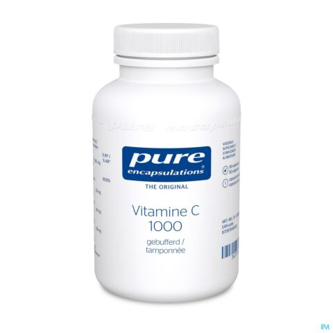Pure Encapsulations Vitamine C 1000 Gebufferd 90 Capsules